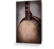 Instrument - String - A typical banjo  Greeting Card