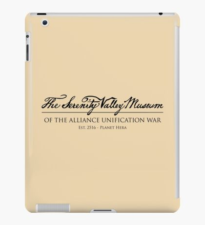 The Serenity Valley Museum iPad Case/Skin
