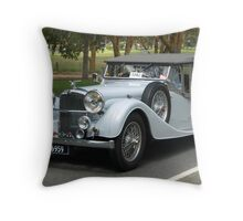Alvis Speed 25 1937 Throw Pillow