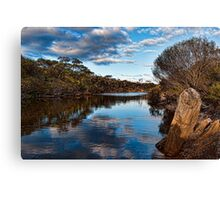 The Gairdner River in Fitzgerald River NP  Canvas Print