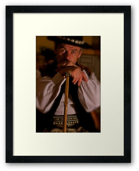 Brown Sugar as Juraj Jánošík . Jánošík has been the main character of many Slovak legends, novels, poems, and films. According to the legend, he robbed nobles and gave the loot to the poor. by © Andrzej Goszcz,M.D. Ph.D