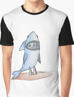 Shark Boy Graphic T-Shirt