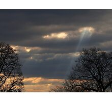 Angel Ladder Photographic Print