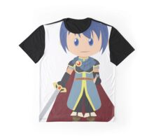 Chibi Marth Vector Graphic T-Shirt