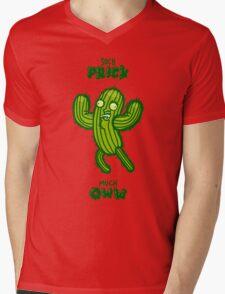 So Cactus Mens V-Neck T-Shirt