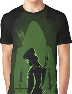 Green shadow Graphic T-Shirt