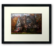 Cottage -  Cranford, NJ - Autumn Cottage  Framed Print