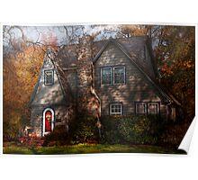 Cottage -  Cranford, NJ - Autumn Cottage  Poster
