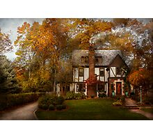 Cottage - Westfield, NJ - A home like any other Photographic Print