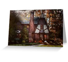 Cottage - Westfield, NJ - A place to retire Greeting Card