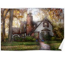 Cottage - Westfield, NJ - Grandma Ridinghoods house Poster