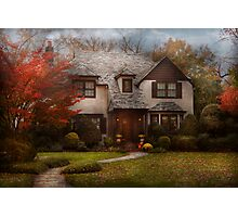 Cottage - Westfield, NJ - The country life Photographic Print