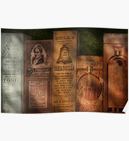 Doctor - Compound Extracts & Sarsaparilla Poster