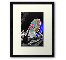 Edinburgh Big Wheel Framed Print