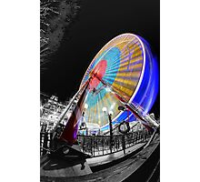 Edinburgh Big Wheel Photographic Print
