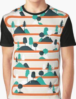 Foxy stripes Graphic T-Shirt
