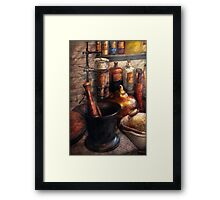 Pharmacy - Pharmacology Framed Print
