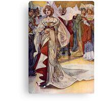 """Cinderella"" by Charles Robinson Canvas Print"
