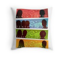 NuWho Doctors Throw Pillow