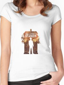 Gallifrey Stands Women's Fitted Scoop T-Shirt