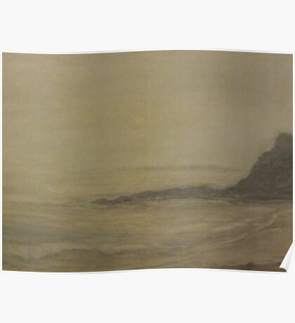 Misty Heisler Beach Poster
