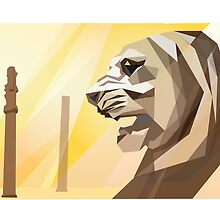 Lion of Persepolis by SFDesignstudio