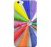 Woodless Colored Pencil Heads Macro Closeup iPhone Case/Skin