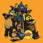 The Banana Splits by monsterplanet
