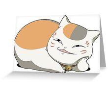Natsume Yuujinchou: Nyanko Sensei Greeting Card
