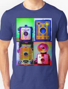 Camera Collage Unisex T-Shirt