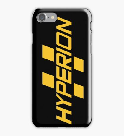 Hyperion Yellow iPhone Case/Skin