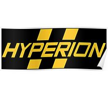 Hyperion Yellow Poster