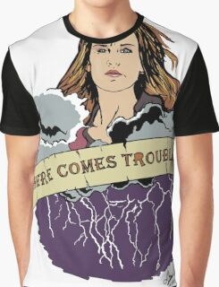 Haven - Mara (Here Comes Trouble) Graphic T-Shirt