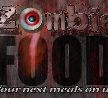 Zombie Food Print by IreKire