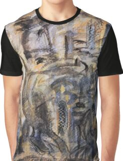 Ghostly Echoes Graphic T-Shirt