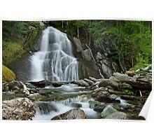 Moss Glen Falls - Midstream Poster