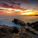 Dawn at the Rocks by Mark  Lucey