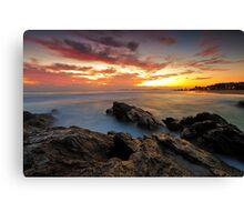 Dawn at the Rocks Canvas Print