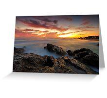 Dawn at the Rocks Greeting Card