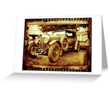 Oul Bentley in the Square! Greeting Card