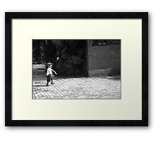 Cheap Amusement Framed Print