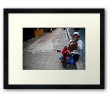 Monkey Business Framed Print