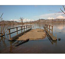 Old Bethanga Bridge Crossing, Lake Hume. Victoria Photographic Print