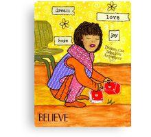 A Prayer That DREAMS Come True Canvas Print