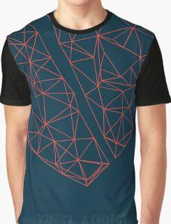 Vinyl Addict Geometric Graphic T-Shirt