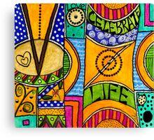 Living a VIBRANT Life Canvas Print