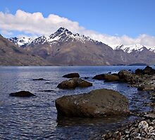 Lake Wakatipu, Queenstown, NZ by Jenni Tanner