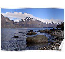Lake Wakatipu, Queenstown, NZ Poster