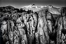 Peaks Over Cliffs by Bob Larson