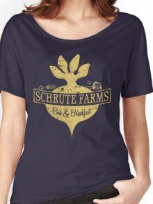 Schrute Farms B&B (no circles) Women's Relaxed Fit T-Shirt